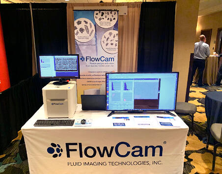 Fluid Imaging FlowCam Booth at International Petroleum Environmental Conference