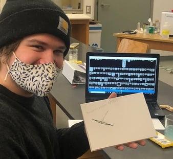 Maine Maritime Academy student FlowCam images