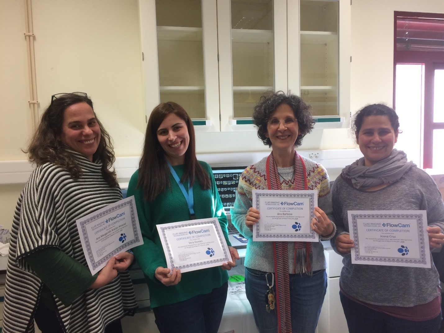 FlowCam training University of Algarve phytoplankton analysis