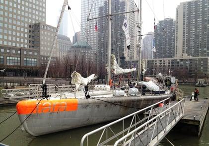Tara Oceans Project FlowCam on board