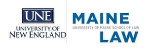 UNE Maine Law logo