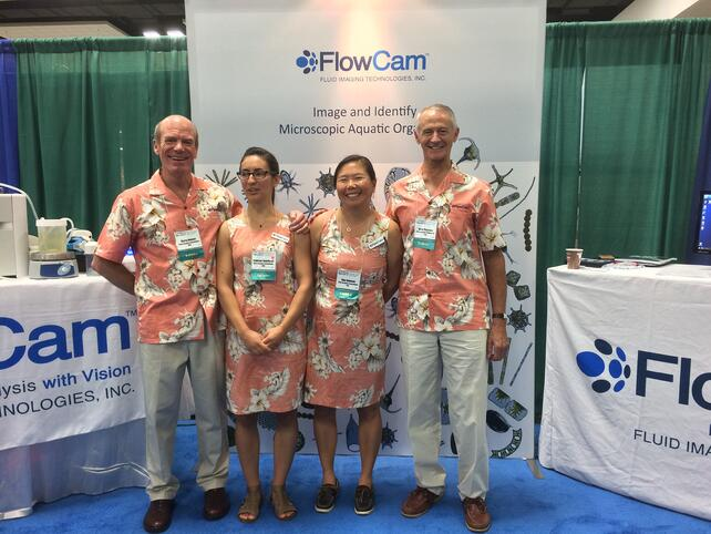 ASLO Ocean Sciences Meeting 2017 Fluid Imaging Technologies showcasing FlowCam
