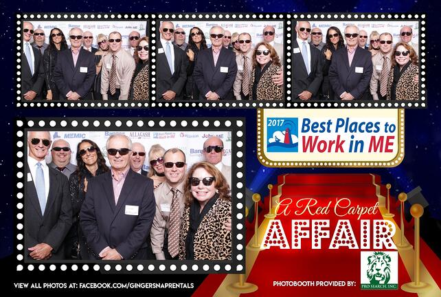 Fluid Imaging Technologies team at Best Places to work in ME gala