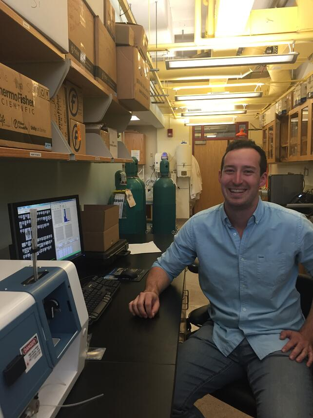 Nick Ray Boston University with FlowCam
