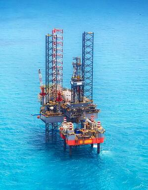 oil rig cropped